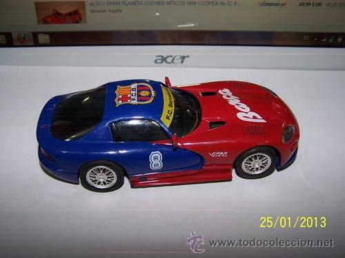 VIPER GTS R F.C BARCELONA (Juguetes - Slot Cars - Ninco)