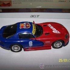 Slot Cars: VIPER GTS R F.C BARCELONA. Lote 35627618