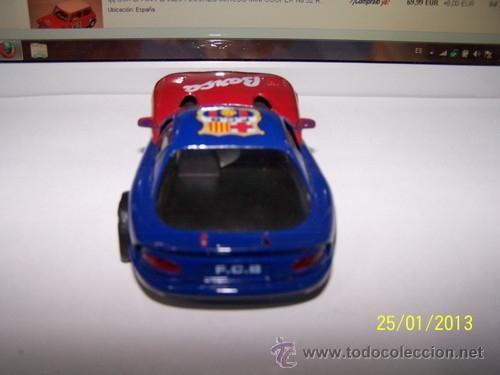 Slot Cars: VIPER GTS R F.C BARCELONA - Foto 4 - 35627618