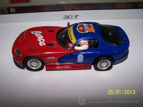 Slot Cars: VIPER GTS R F.C BARCELONA - Foto 5 - 35627618