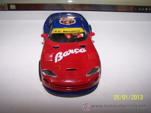 Slot Cars: VIPER GTS R F.C BARCELONA - Foto 6 - 35627618
