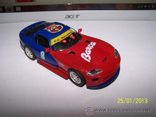 Slot Cars: VIPER GTS R F.C BARCELONA - Foto 7 - 35627618