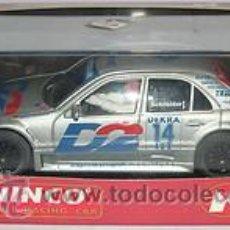 Slot Cars: AMG MERCEDES CLASE C PLATA DECORACION D2. Lote 35655895