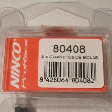 Slot Cars: NINCO ORIGINAL: REF.80408. 2 COJINETES DE BOLAS...............MAXIMA CALIDAD. NUEVOS EN SU BLISTER. Lote 37428762