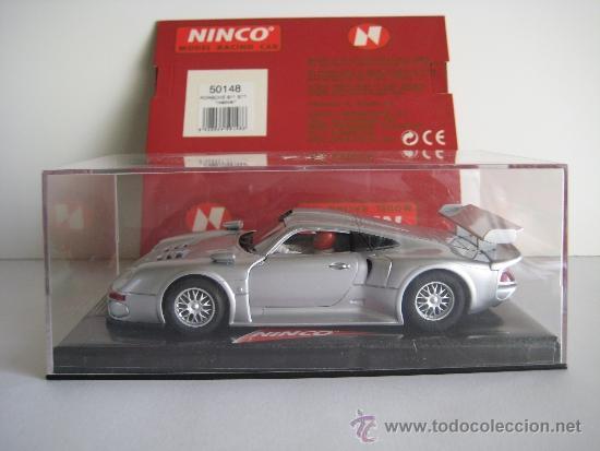 Slot Cars: Ninco - Porsche 911 gt1 roadcar - Foto 2 - 38554970