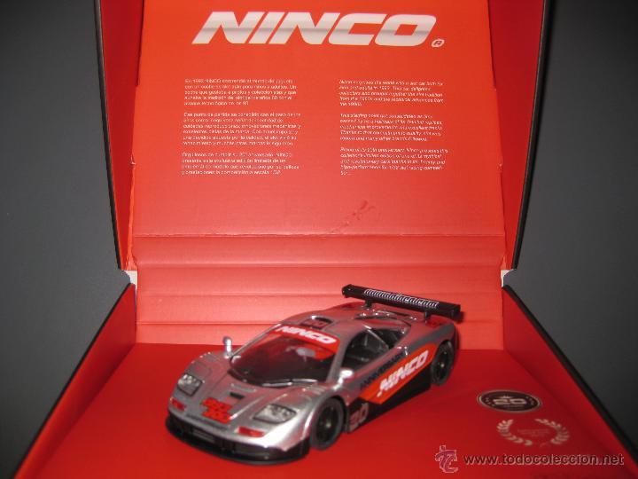 OFERTA - MCLAREN GTR EDICION ESPECIAL CONMEMORATIVA 20 AÑOS DE NINCO (Juguetes - Slot Cars - Ninco)
