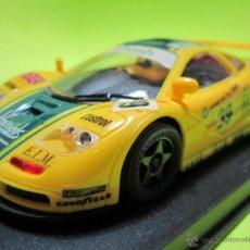 Slot Cars: MC LAREN GTR HARRODS NUEVO NINCO. Lote 40301986