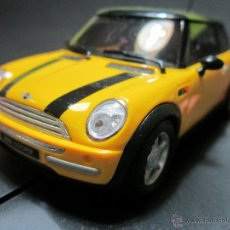 Slot Cars: MINI COOPER YELLOW NUEVO NINCO. Lote 40416951