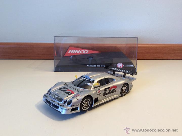 MERCEDES CLK GTR NINCO (Juguetes - Slot Cars - Ninco)