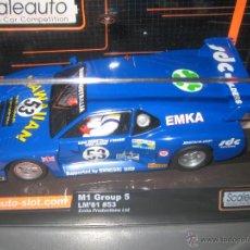 Slot Cars: OFERTON - BMW M1 GRUPO 5 DE LE MANS 81 DE SCALEAUTO. Lote 182699818