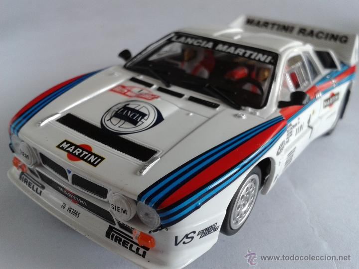 ninco lancia 037 rallye martini. comp. scalextr - sold through