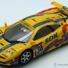 Slot Cars: MCLAREN GTR NINCO SLOT AMARILLO. Lote 49996007