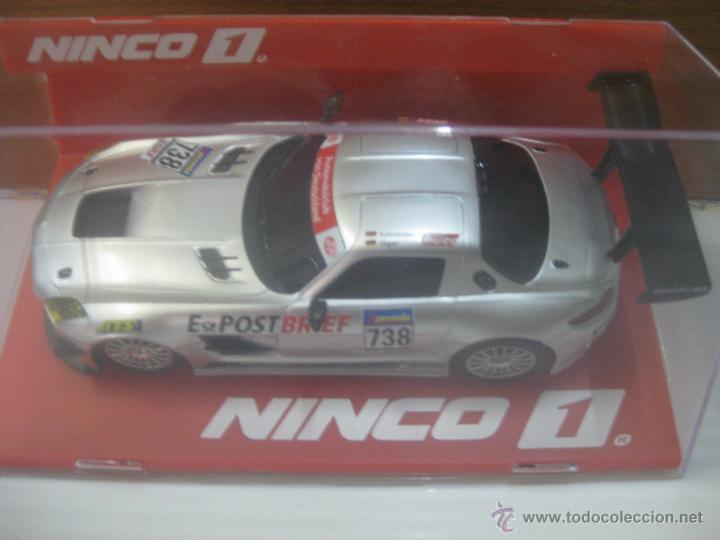 NINCO.MERCEDES GTS POSTBRIEF (Juguetes - Slot Cars - Ninco)