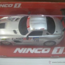 Slot Cars: NINCO.MERCEDES GTS POSTBRIEF. Lote 50020765