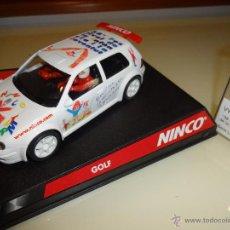 Slot Cars: NINCO. VW GOLF. FESTIVAL DE LA INFANCIA. SERIA LIMITADA.. Lote 105569432