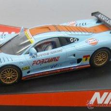 Slot Cars: MOSLER MT900 GULF NINCO SLOT CAR 1/32 NUEVO EN SU CAJA. Lote 108763598
