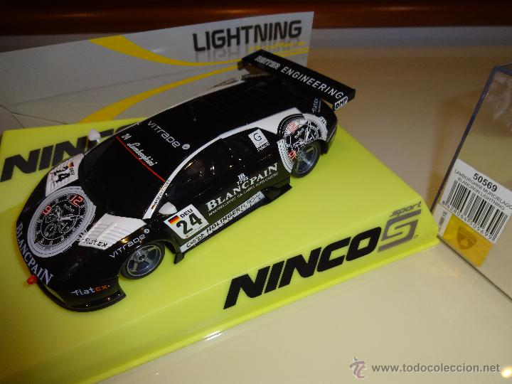 LIGHTNING NINCO 50569 LAMBORGHINI MURCIELAGO BLANCPAIN NUEVO A ESTRENAR