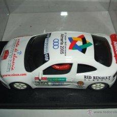 Slot Cars: RENAULT MEGANE RALLYE COSTA DE ALMERÍA, EDICION LIMITADA NUEVO. Lote 54882752