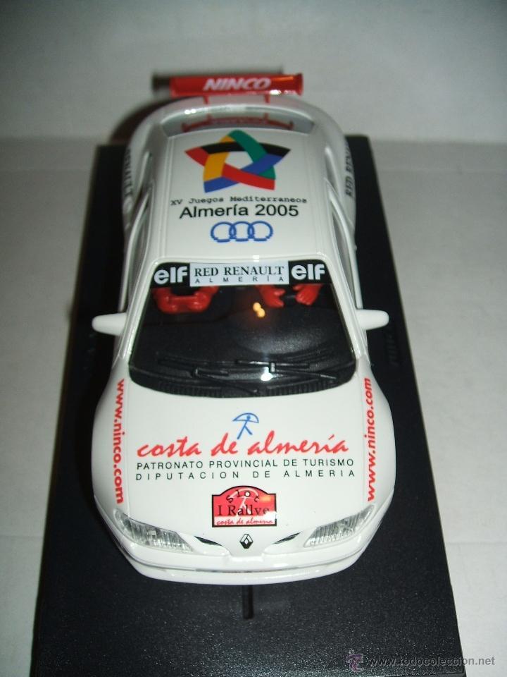 Slot Cars: RENAULT MEGANE RALLYE COSTA DE ALMERÍA, EDICION LIMITADA NUEVO - Foto 3 - 54882752