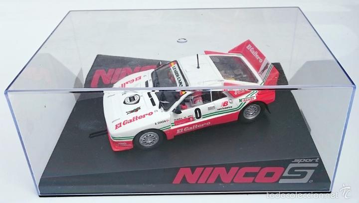 Slot Cars: NINCO SLOT R 50618 LANCIA 037 EL GAITERO COMPETICIÓN B CARDIN SUBIDA AL FITO 2007 N 0 / PRECINTADO - Foto 6 - 56216350
