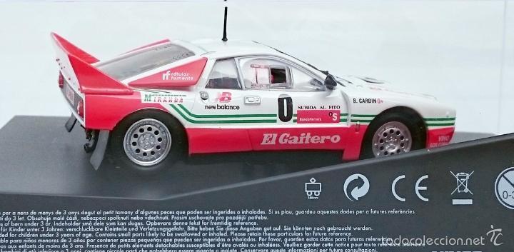 Slot Cars: NINCO SLOT R 50618 LANCIA 037 EL GAITERO COMPETICIÓN B CARDIN SUBIDA AL FITO 2007 N 0 / PRECINTADO - Foto 7 - 56216350