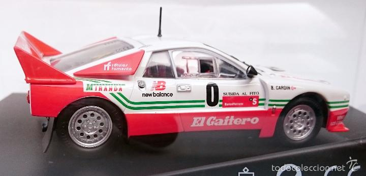 Slot Cars: NINCO SLOT R 50618 LANCIA 037 EL GAITERO COMPETICIÓN B CARDIN SUBIDA AL FITO 2007 N 0 / PRECINTADO - Foto 8 - 56216350