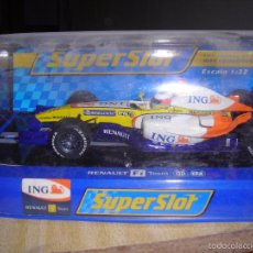 Slot Cars: FORMULA 1 RENAULT FERNANDO ALONSO,NUEVO EN CAJA. Lote 57267858