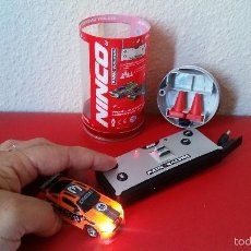 Slot Cars: COCHE NINCO PARK RACERS RADIO CONTROL RC ENERGY CARS MINI FUNCIONA. Lote 57389253