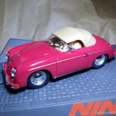 Slot Cars: PORSCHE 356-A SPEEDSTER RED DE NINCO. Lote 61147299