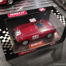 Slot Cars: FERRARI 166 MM LE MANS 1949 NINCO. Lote 61158195