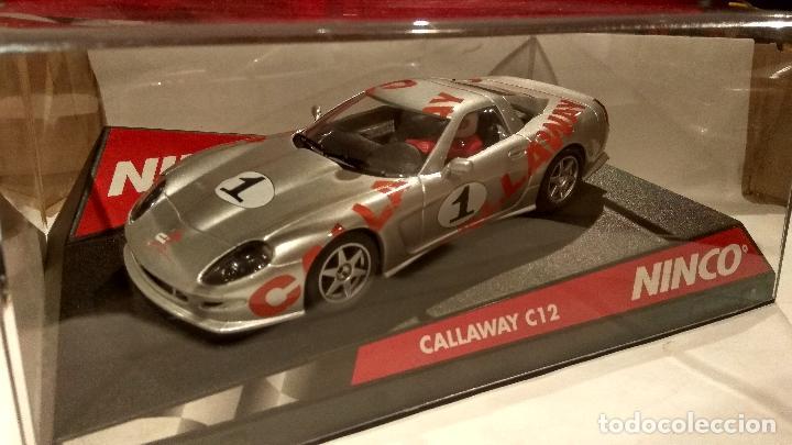 CALLAWAY C12 CALLAWAY Nº1 NINCO REF. 50222 (Juguetes - Slot Cars - Ninco)