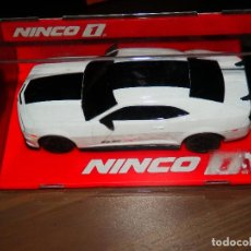 Slot Cars: NINCO 1 CHEVROLET CAMARO SSX COCHE SLOT CAR NUEVO EN CAJA SIN ABRIR . Lote 94307810