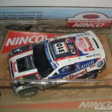 Slot Cars: OFERTA VW TOUAREG EDICION LIMITADA A 130 UNIDADES V BAJA SLOT ESPAÑA-ARAGON 2007 DE NINCO. Lote 71518019