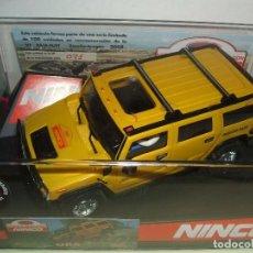 Slot Cars: OFERTA HUMMER H2 EDICION LIMITADA A 100 UNIDADES VI BAJA SLOT ESPAÑA-ARAGON 2008 DE NINCO. Lote 71518163
