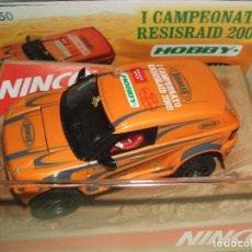 Slot Cars: OFERTA BOWLER EDICION LIMITADA A 50 UNIDADES I CAMPEONATO RESISRAID 2009 DE NINCO. Lote 71518391