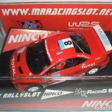 Slot Cars: PEUGEOT 307 DE NINCO EDICION LIMITADA 48 UNIDADES MR RACING III RALLY-SLOT NINCO PREMIO TROFEO PILOT. Lote 71518663