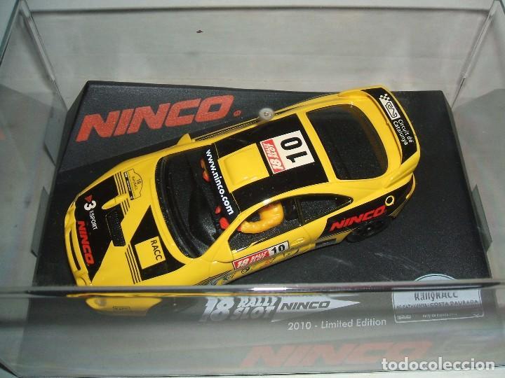 TOYOTA CELICA RALLY CATALUNYA 2010 REF.-50557 EDICION LIMITADA (Juguetes - Slot Cars - Ninco)