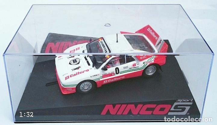 Slot Cars: NINCO SLOT R 50618 LANCIA 037 EL GAITERO COMPETICIÓN B CARDIN SUBIDA AL FITO 2007 N 0 / PRECINTADO - Foto 10 - 56216350