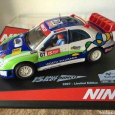 Slot Cars: NINCO SUBARU RACC 2007. Lote 79287905