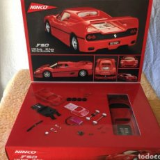 Slot Cars: NINCO FERRARI F50 SLOT CAR ASSEMBLY KIT. Lote 80047559
