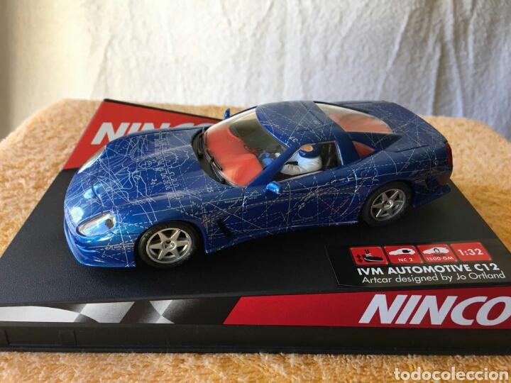 COCHE NINCO IVM AUTOMOTIVE C12 ARTCAR (Juguetes - Slot Cars - Ninco)