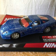 Slot Cars: COCHE NINCO IVM AUTOMOTIVE C12 ARTCAR. Lote 80048059