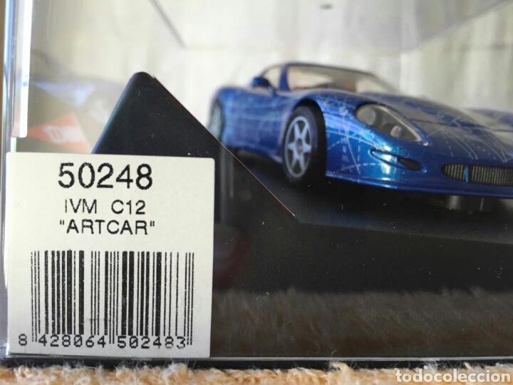 Slot Cars: Coche Ninco IVM Automotive C12 Artcar - Foto 4 - 80048059