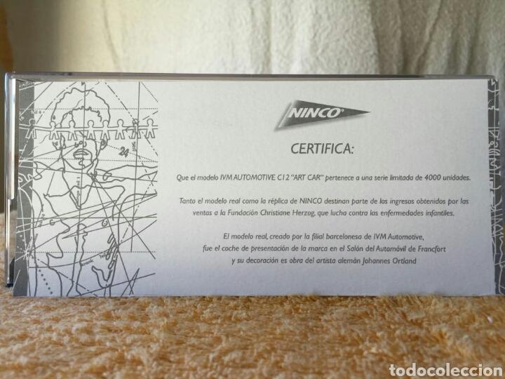 Slot Cars: Coche Ninco IVM Automotive C12 Artcar - Foto 5 - 80048059