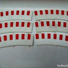 Slot Cars: NINCO. 6 PIANOS DE CURVA. Lote 84526212