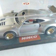 Slot Cars: NINCO PORSCHE 911 GT1 ROAD CAR. NUEVO, EN URNA. VÁLIDO SCALEXTRIC. Lote 84526972