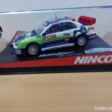 Slot Cars: SUBARU WRC CONMEMORATIVO DEL RALLY RACC CATALUNYA 2007. Lote 87640628