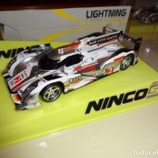 Slot Cars: NINCO. AUDI R18 E-TRON. LE MANS. LIGHTNING. REF. 50619. Lote 98946288