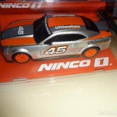 Slot Cars: NINCO 1. CHEVROLET CAMARO. ULTIMATUM. REF. 55057. Lote 91664260