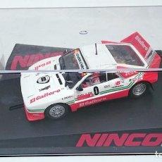 Slot Cars: NINCO SPORT REF 50618 LANCIA 037 EL GAITERO B CARDIN SUBIDA AL FITO N 0. Lote 56216350